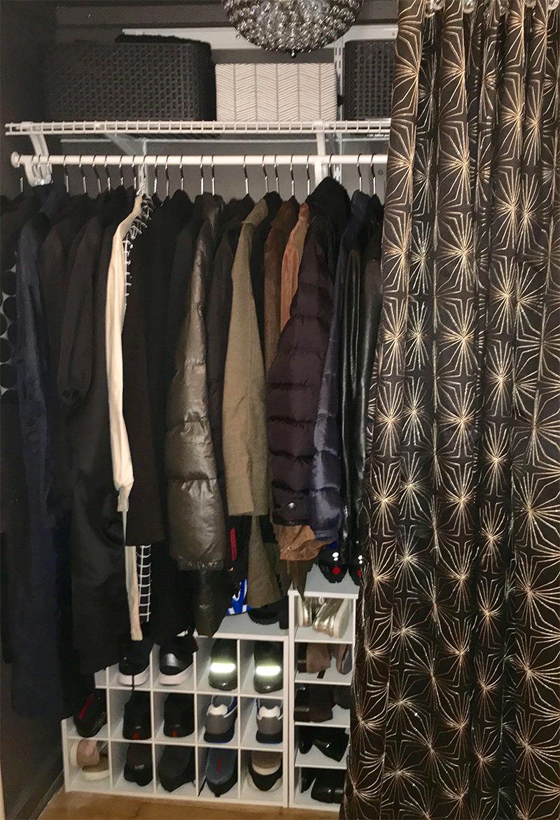 Neat Coat Closet