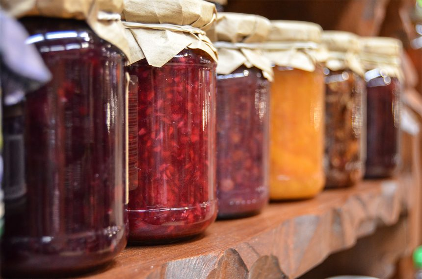 Healthy Food in Jars